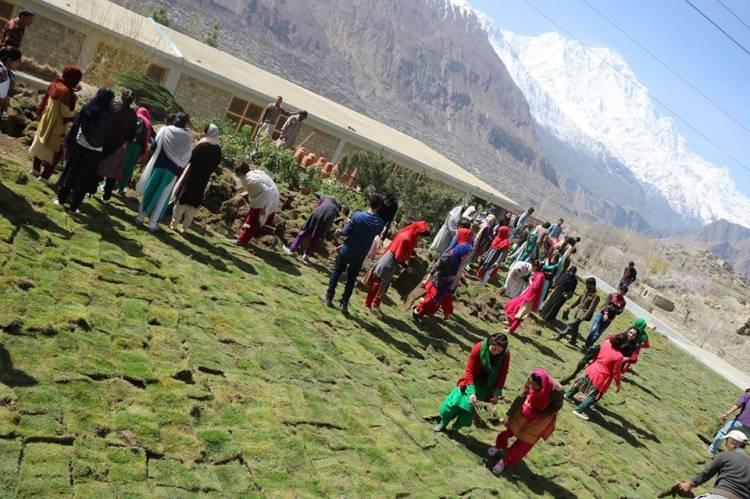 Karakorum University begins Tree Plantation Drive in Gilgit