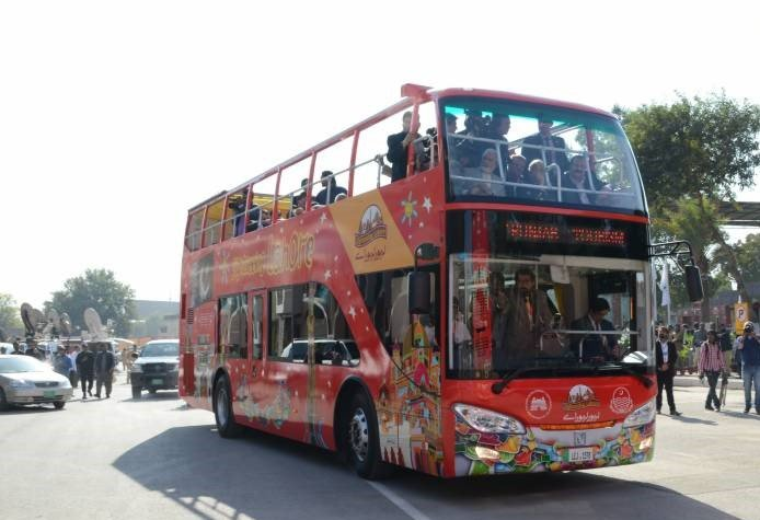 Sialkot to get Double Decker Tourist Bus
