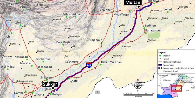 Sukkur-Hyderabad Motorway to be Operational from August