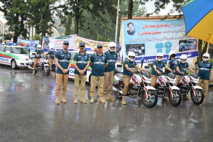 Tourist Police Department in Azad Kashmir