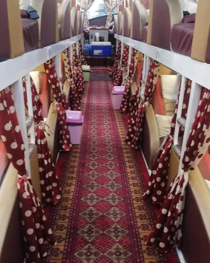 Sleeper Bus Service in Pakistan