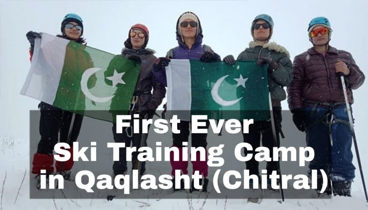 First Ever Ski Training Camp in Qaqlasht (Chitral)
